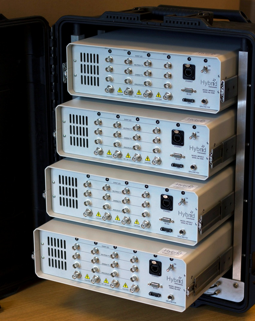 Quad Channel Mixed Field Analyser Cluster, Model: MFAX4.3c